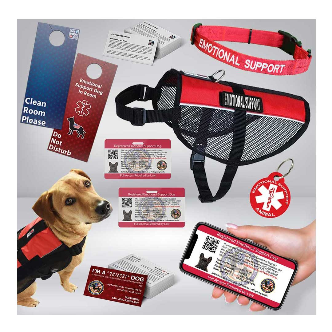 emotional support dog premium package