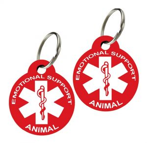 emotional support dog id tag esa