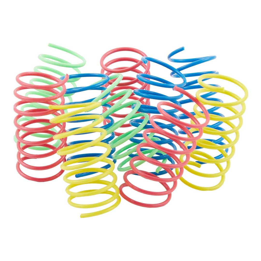 ethical pet wide durable heavy gauge springs cat toy
