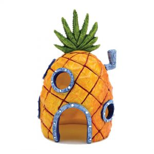 penn plax spongebob pineapple home