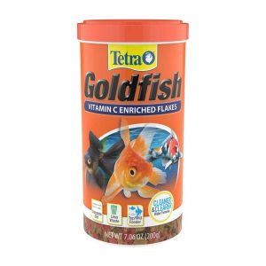 tetrafin goldfish flakes fish food 7.06-oz