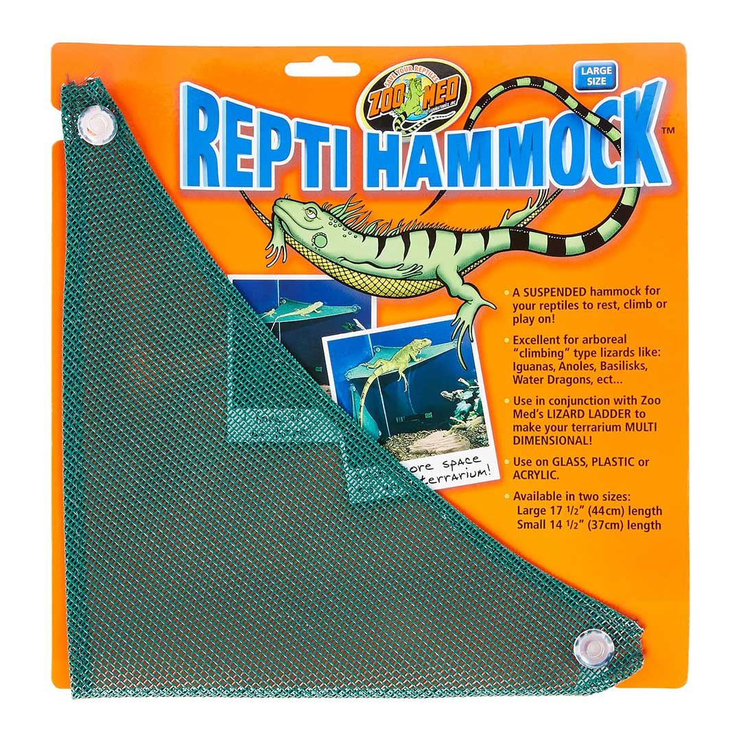 zoo med reptile hammock large